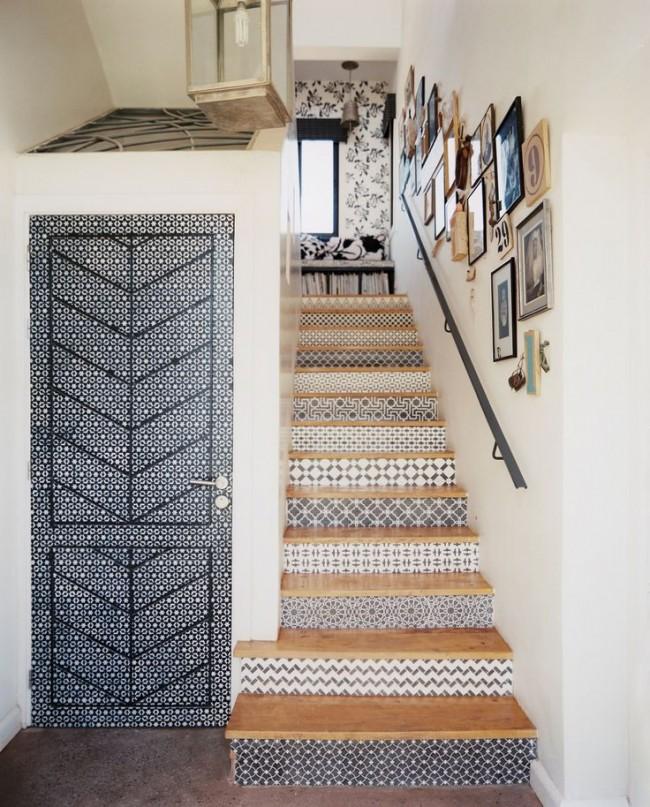 escaleras decoradas wall art interiordesign homedecor
