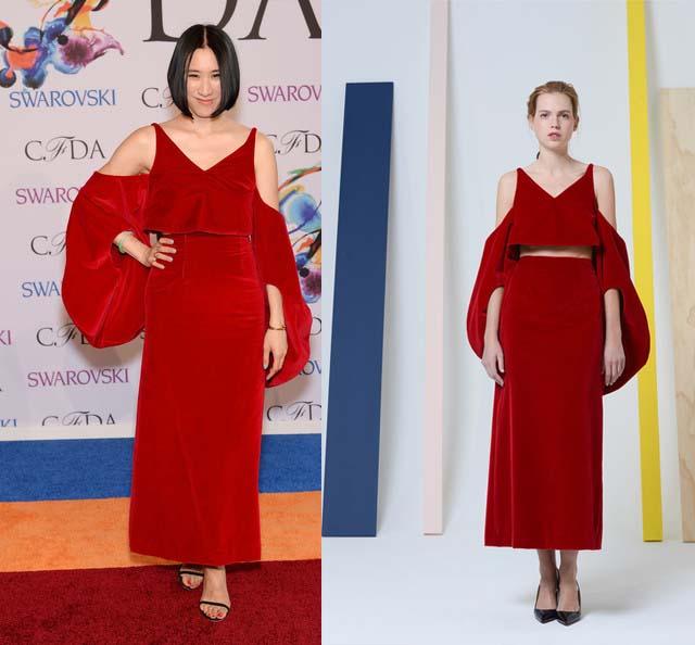 Eva Chen Rosie Assoulin CFDA Awards