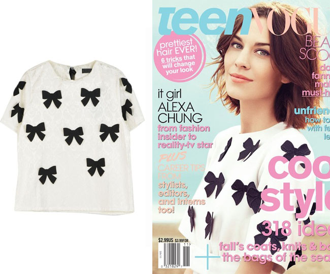alexa chung teen vogue marc jacobs persunmall