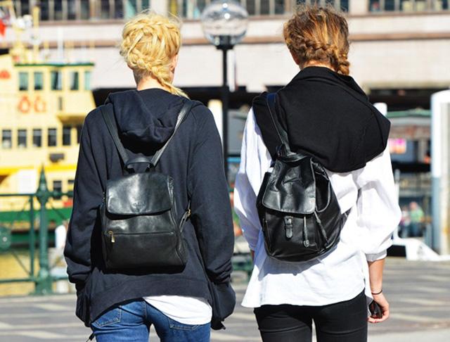 mochilas street style