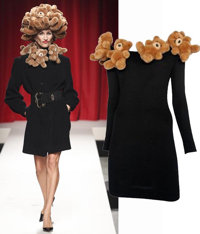 teddy-bear-franco-moschino-dress
