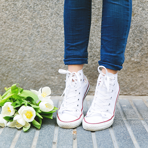 #OOTD: Look sporty chic con Converse #bloggerstyle