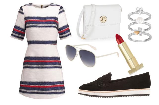 #OOTD: Vestido marinero con mocasines