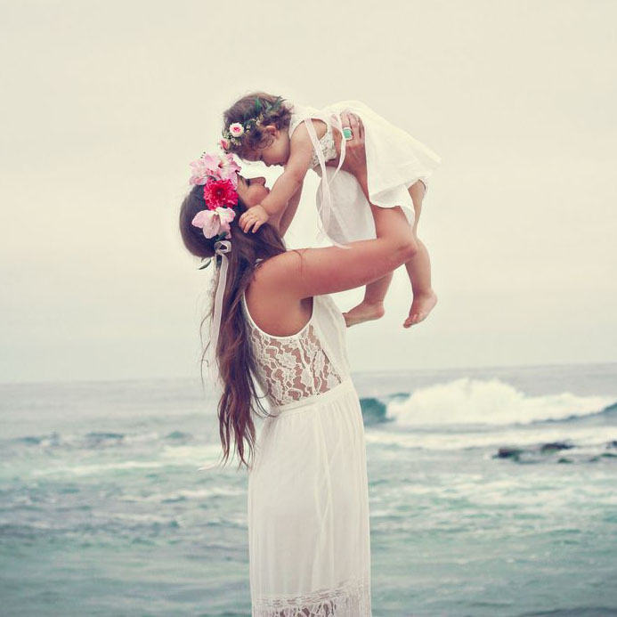 #OOTD Un día en la playa con un bebé