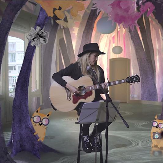 Burn de Ellie Goulding: Cuando arte, tecnología y música se fusionan #RompeLasReglas