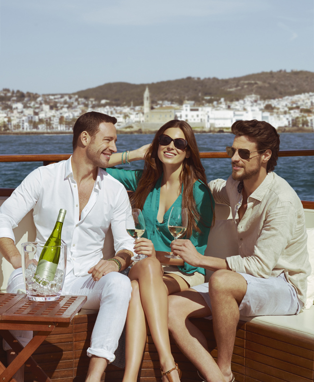 El Mediterráneo sabe a Viña Esmeralda