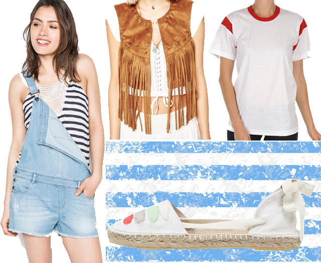 ootd-peto-corto-vaquero-alpargatas-chaleco-flecos-camiseta-blanca copia