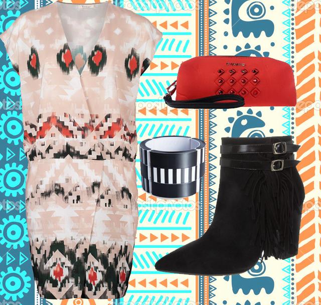 ootd-vestido-etnico-botines-flecos-brazalete-cartera