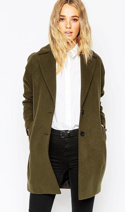 abrigo-verde-cocoon-asos
