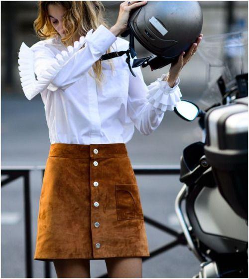 Mandamientos fashion: Reciclarás tu falda de ante