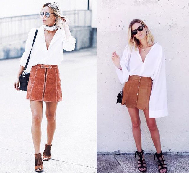 falda-ante-blusa-blanca