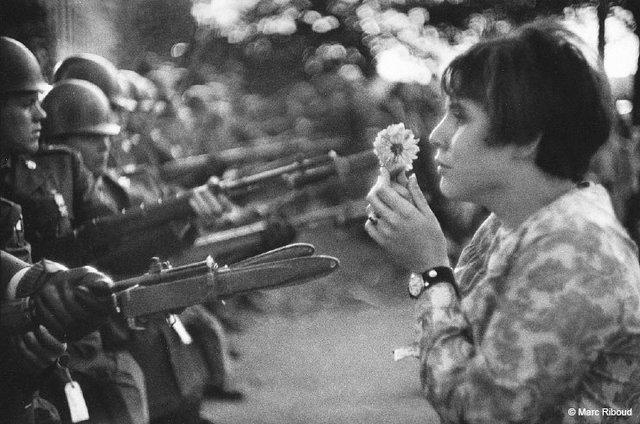 FlowerChildMarcRiboudThePentagon1967