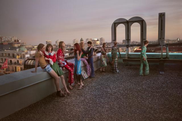 Gucci viaja a Berlín en su campaña Primavera/Verano 2016
