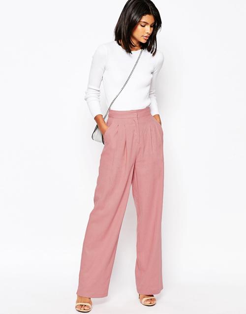 pantalones-talle-alto-rosa-asos-lino