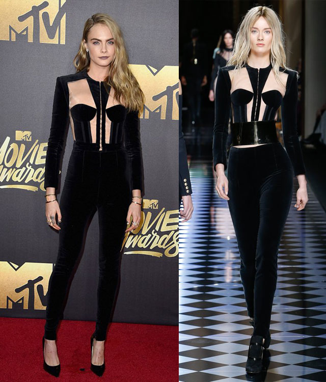 cara-delevingne-balmain-mtv-movie-awards