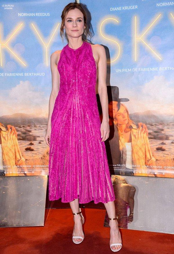 Diane Kruger estrena la colección de Boss otoño-invierno 2016/17