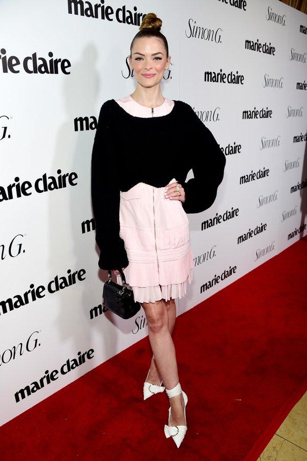 Jaime King de Dior en el #FreshFaces de la revista Marie Claire