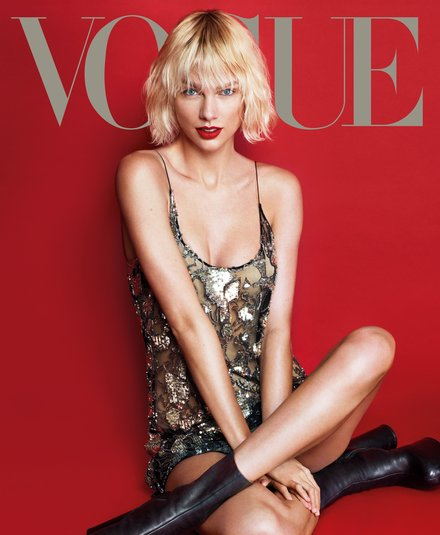 Taylor Swift, portada de Vogue USA de mayo