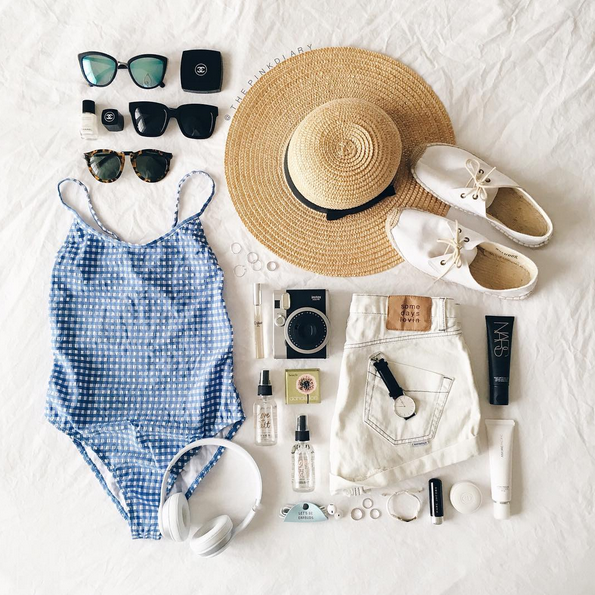 #flatlay, la forma bonita de enseñar tus items en Instagram