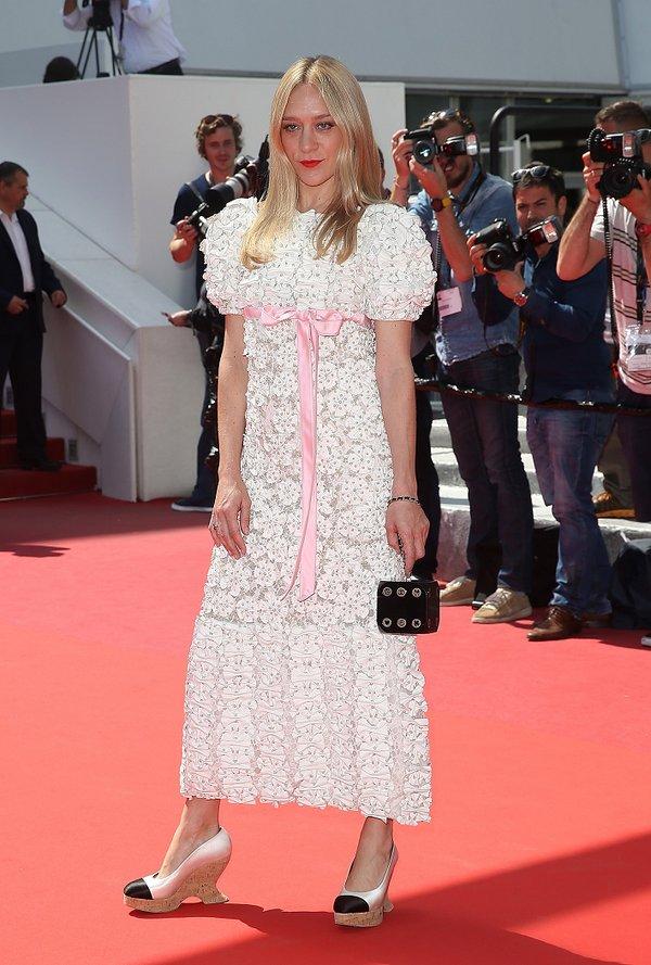 Chloé Sevigny de Chanel en la prèmiere de Paterson en el Festival de Cine de Cannes 2016