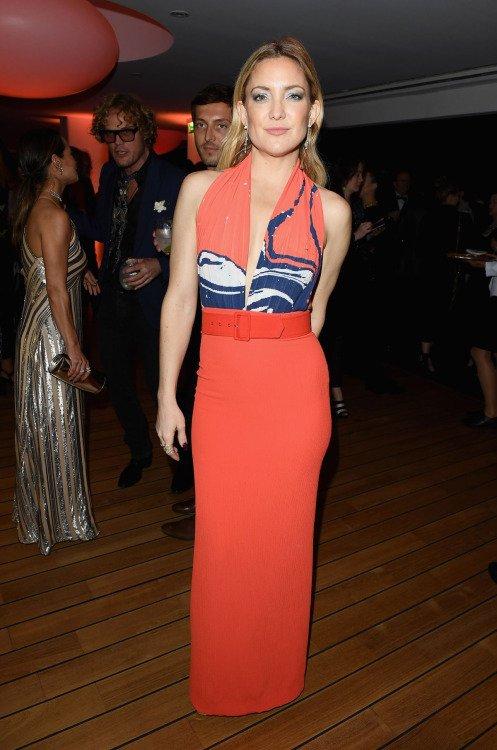 Kate Hudson de Prabal Gurung en la fiesta de Vanity Fair en el Festival de Cine de Cannes 2016