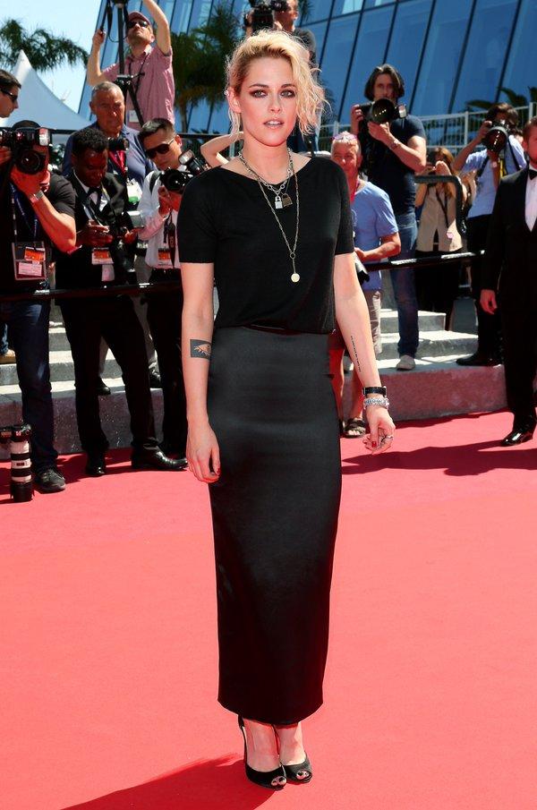 Kristen Stewart de Chanel en la prèmiere de American Honey en el Festival de Cine de Cannes 2016