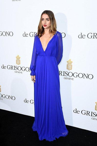 Ana de Armas de Victoria Beckham en la fiesta de De Grisogono en el Festival de Cine de Cannes