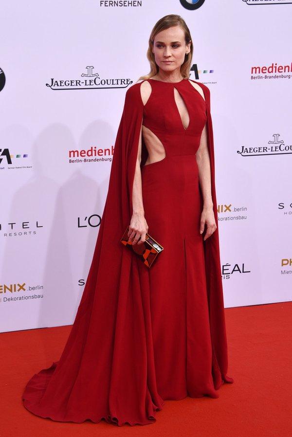 Diane Kruger de Naeem Khan en los LOLA Film Awards