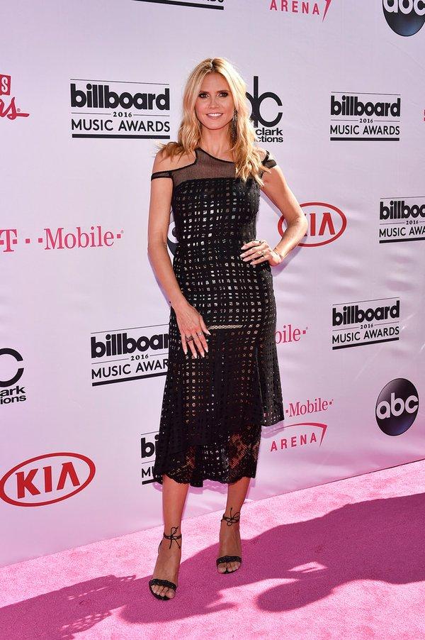 Heidi Klum de Alfredo Villalba en los Billboard Music Awards