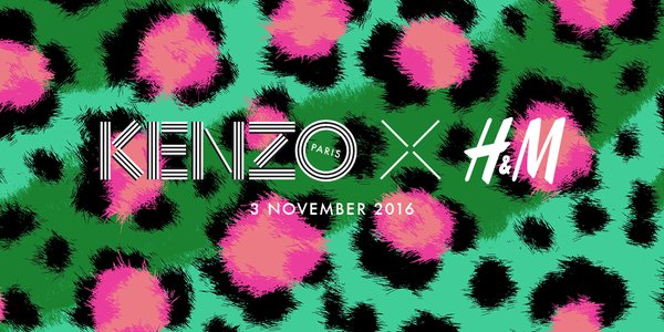 Breaking news: Kenzo x H&M