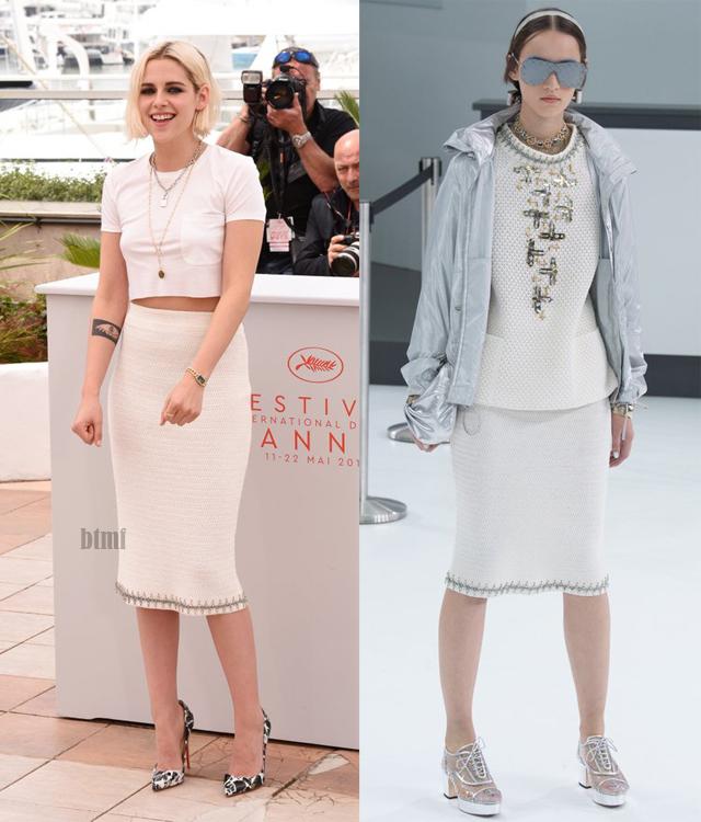 Kristen Stewart de Chanel en el Festival de Cine de Cannes 2016