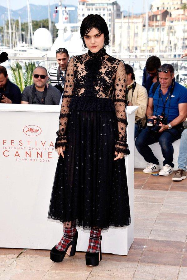 Soko de Giamba en el photocall de The Stopover en el Festival de Cine de Cannes