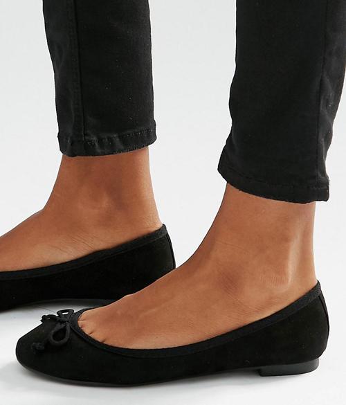 bailarinas negras basicas new look