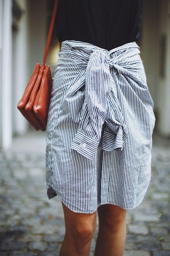 Formas fashionistas de ponerte la camisa de tu padre II