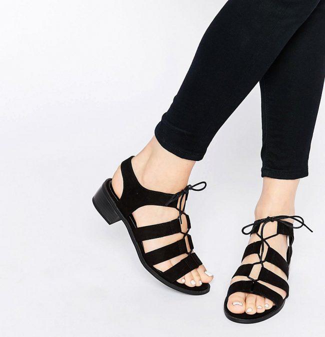 sandalias new look