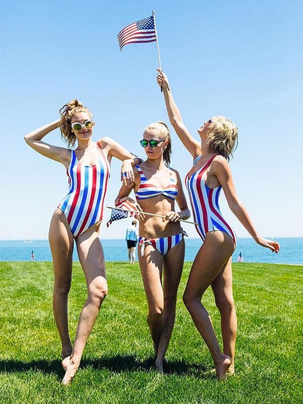 Este verano: ropa de baño a rayas