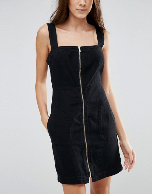 vestido negro vila