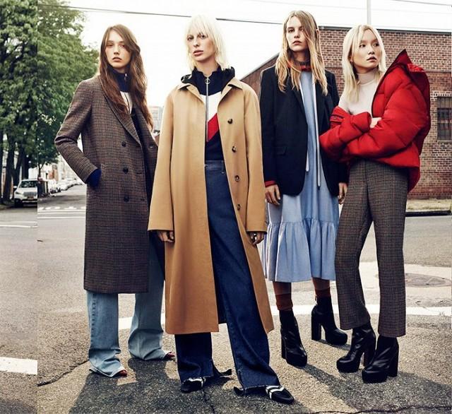 El lookbook FW16/17 de TRF parece sacado de un Pre-Fall de Givenchy