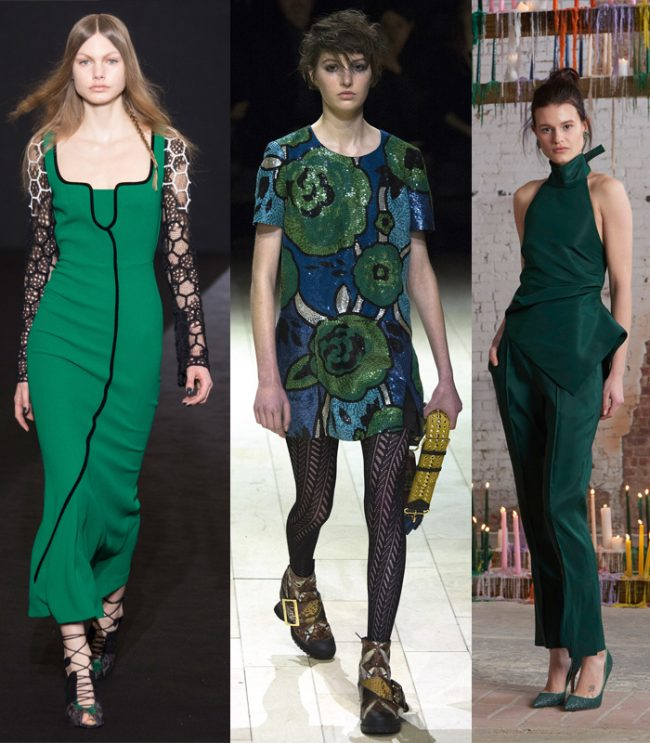 07 lush meadow roland mouret burberry rosie assoulin invierno 2016 verde color tendencia