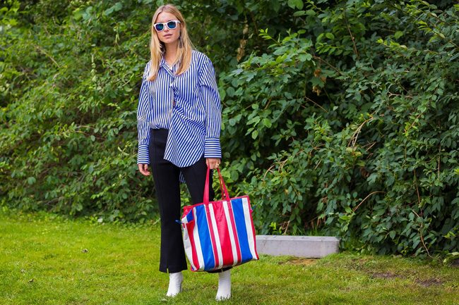 balenciaga bag tailandia pernille street style cophenagen fashion week style du monde