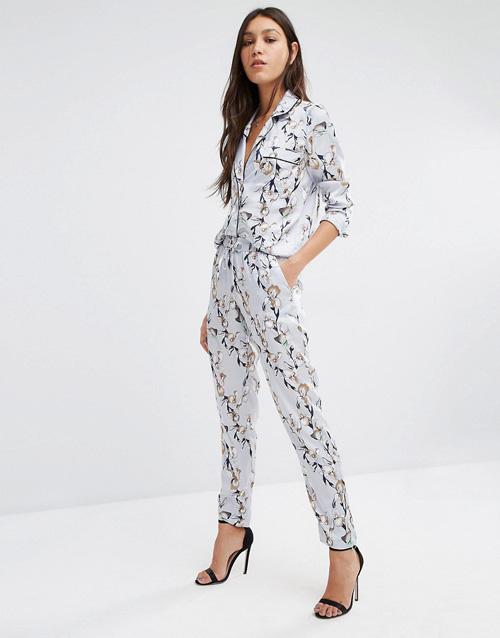 camisa pantalon pijama vero moda asos
