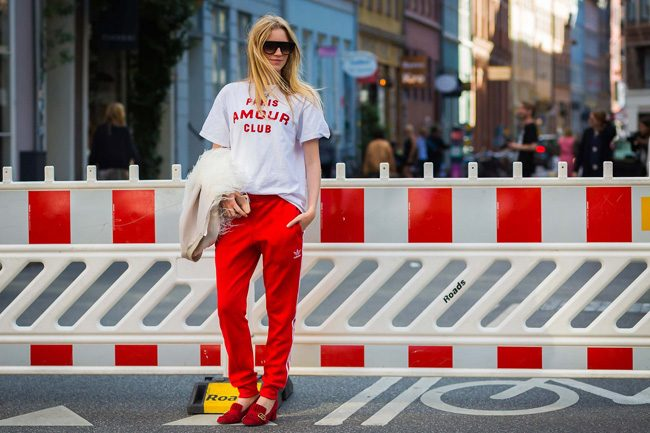 chandal tacones adidas street style du monde cophenagen fashion week