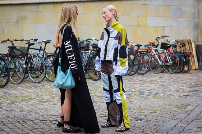 miu miu bailarinas grunge alexander wang ugly shoes street style du monde cophenagen fashion week