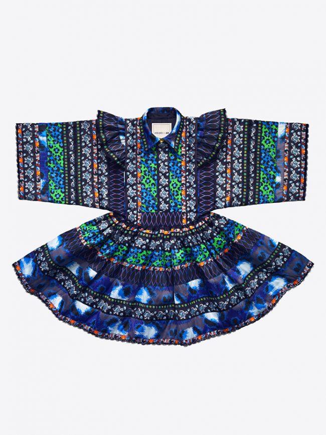 silueta vestido folk kenzo hm