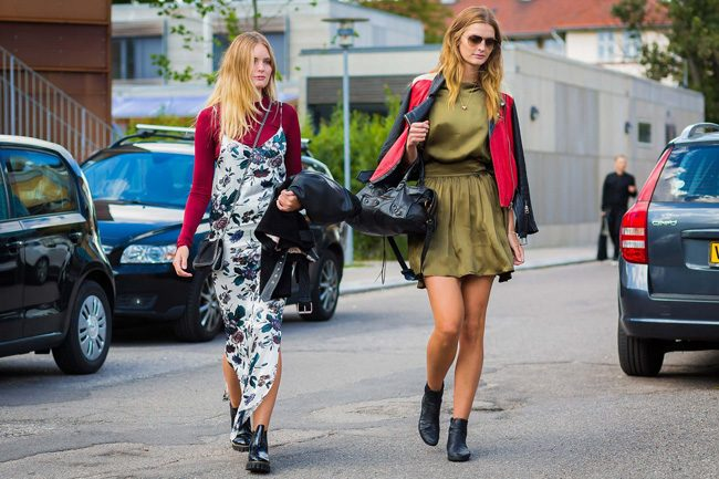 slip dress camiseta style du monde cophenagen fashion week street style