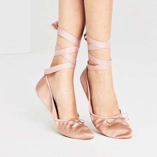 zara zapato plano bailarina clon miu miu