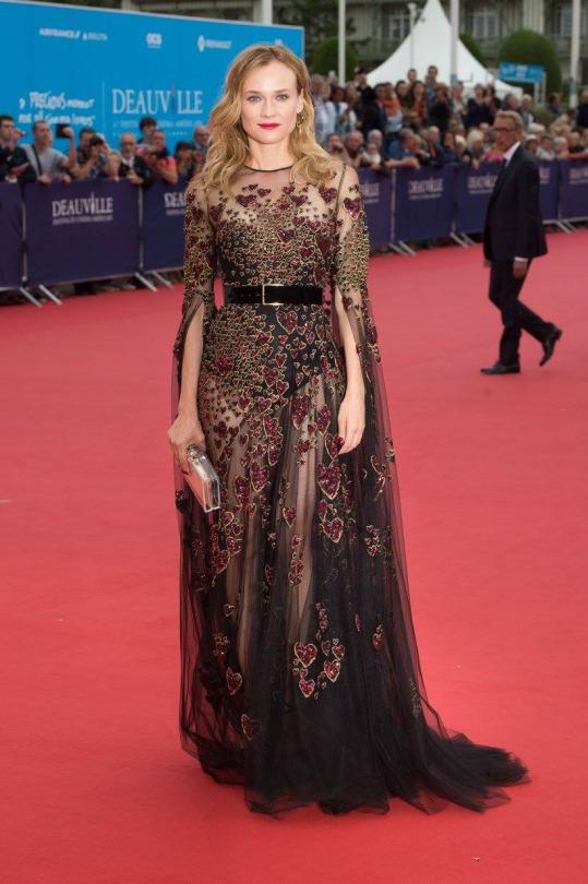 Diane Kruger de Elie Saab en el Festival de Cine de Venecia