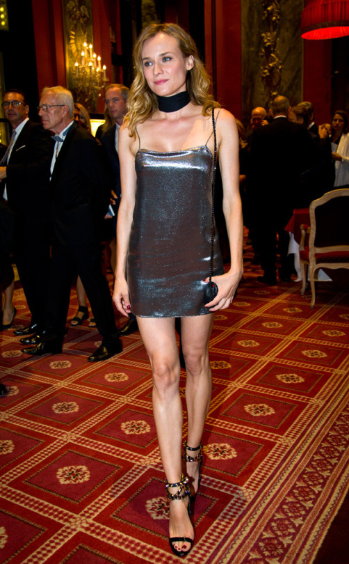 Diane Kruger de Saint Laurent en el Festival de Cine de Venecia