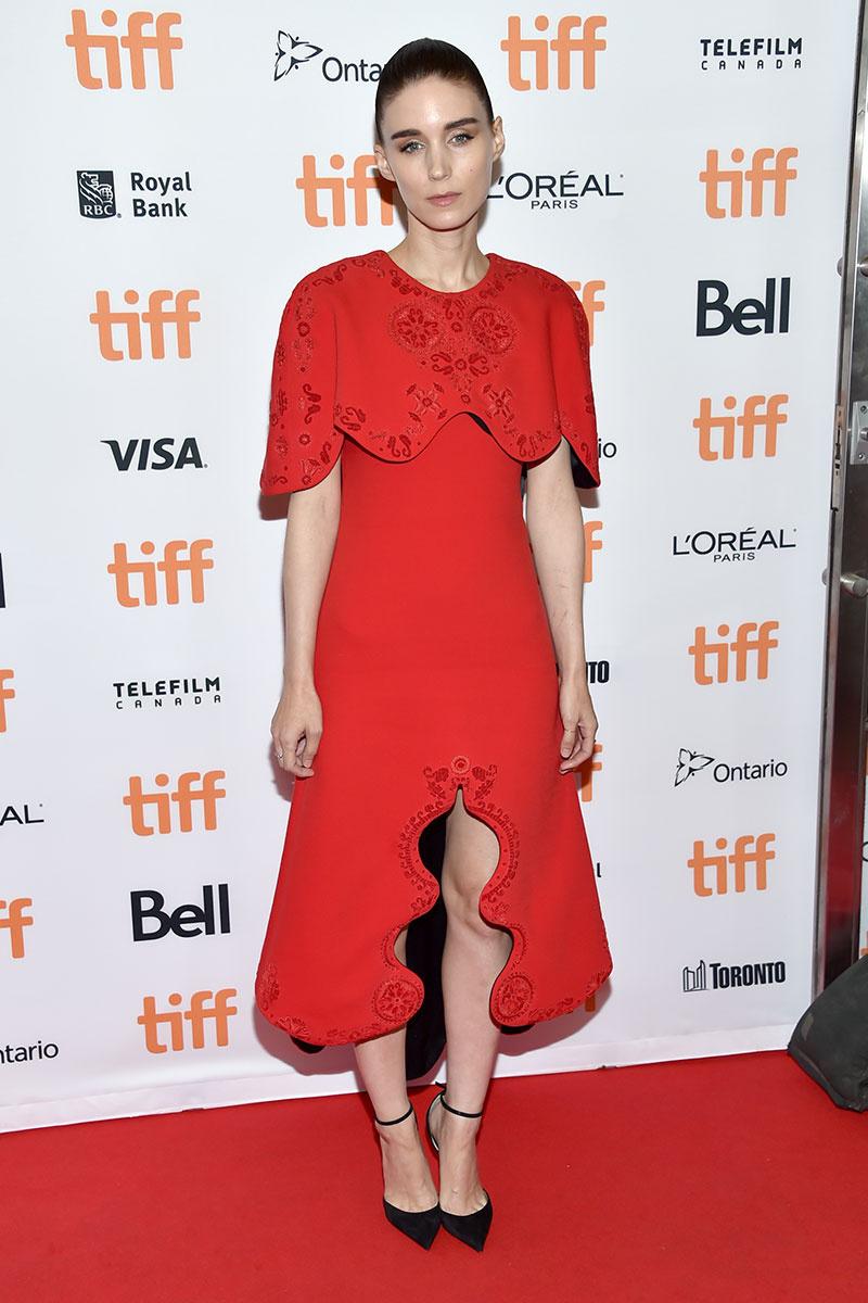 Rooney Mara de Aouadi Couture en el Festival de cine de Toronto