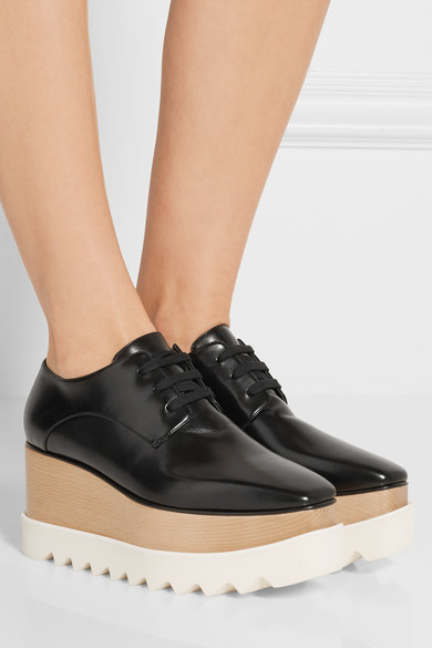 stella mccartney brogues flatforms net a porter